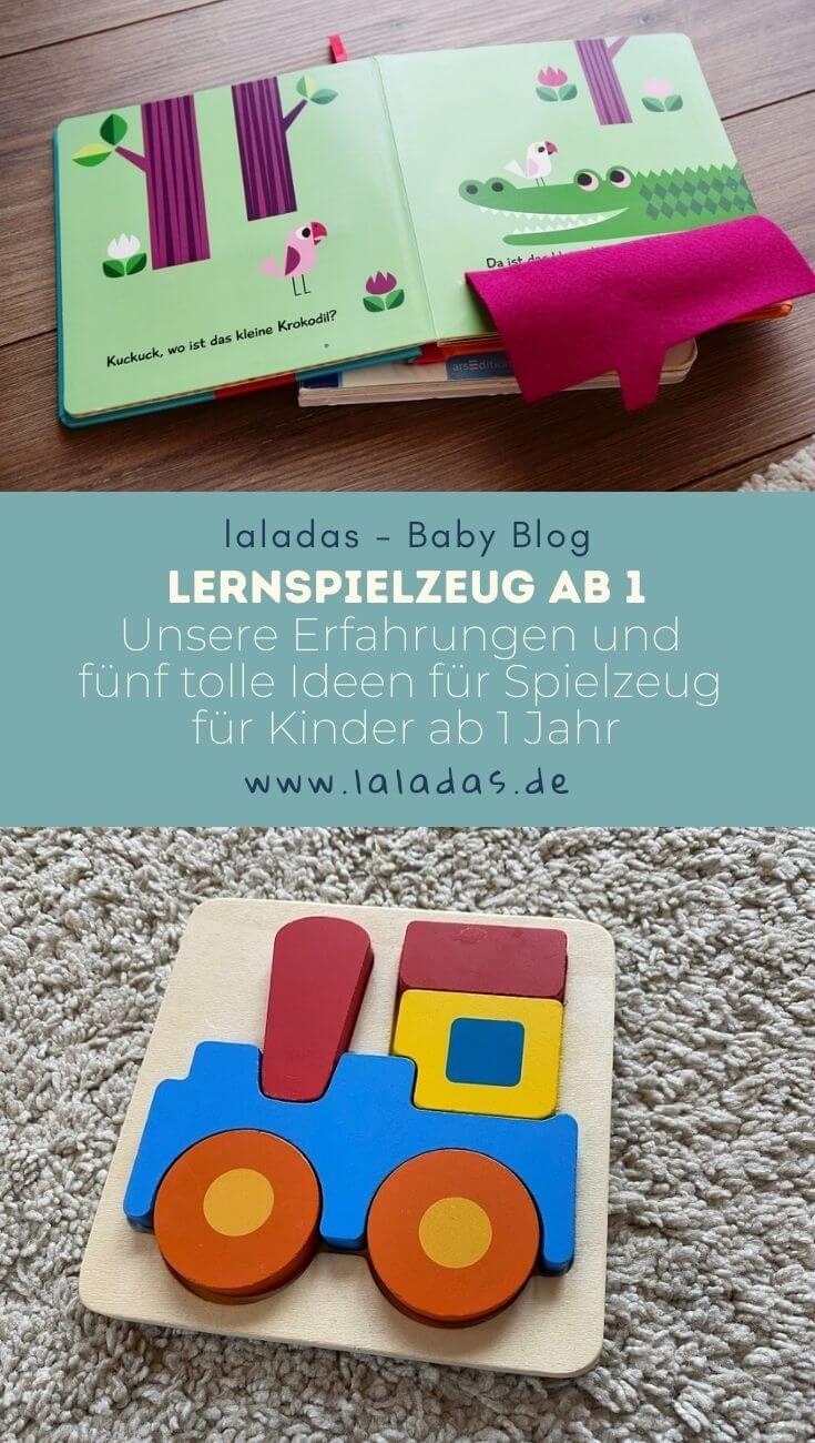 Lernspielzeug ab 1 - Unsere Erfahrungen und fünf tolle Ideen für Spielzeug für Kinder ab 1 Jahr