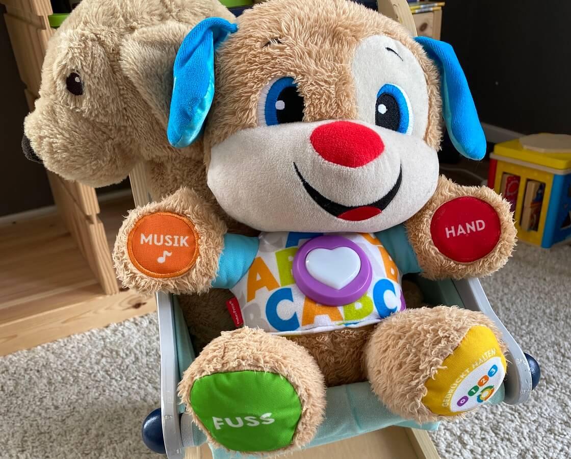 Musikspielzeug ab 1 Jahr - Bei uns wird diese Puppe mit toller Musik seit einem Jahr sehr gerne benutzt