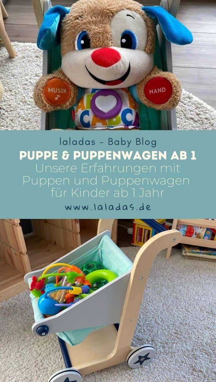Puppe & Puppenwagen ab 1 - Unsere Erfahrungen mit Puppen und Puppenwagen für Kinder ab 1 Jahr
