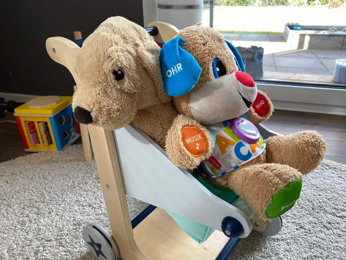 Puppen ab 1 und Puppenwagen Holz ab 1 Jahr - Hier findest Du unsere Erfahrungen aus den ersten Jahren