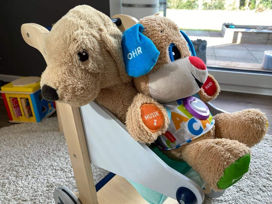 Puppenwagen ab 1 Jahr - Wir haben einen Einkaufswagen, der für Puppen und Spielzeug verwendet wird
