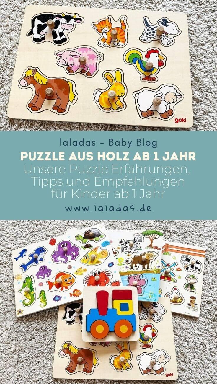 Puzzle aus Holz ab 1 Jahr - Unsere Puzzle Erfahrungen, Tipps und Empfehlungen für Kinder ab 1 Jahr