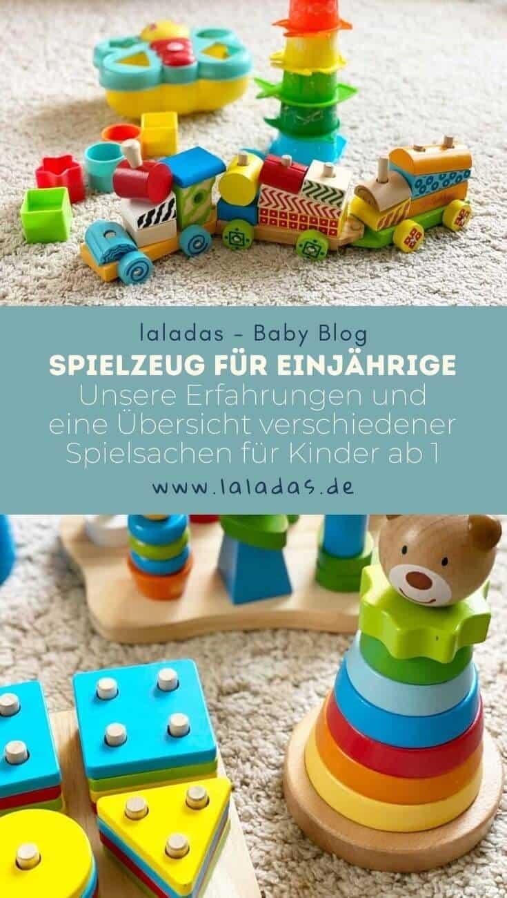 Spielzeug für Einjährige - Unsere Erfahrungen und eine Übersicht verschiedener Spielsachen für Kinder ab 1