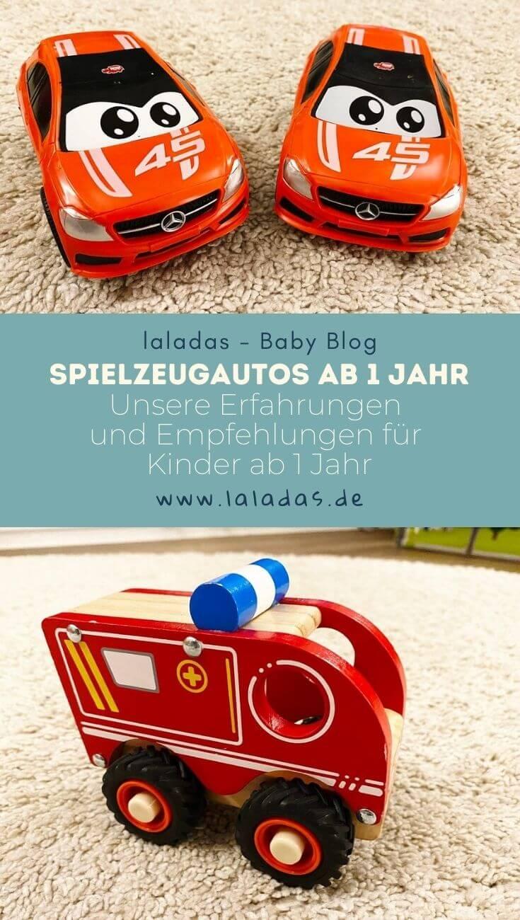 Spielzeugautos ab 1 Jahr - Unsere Erfahrungen und Empfehlungen für Kinder ab 1 Jahr