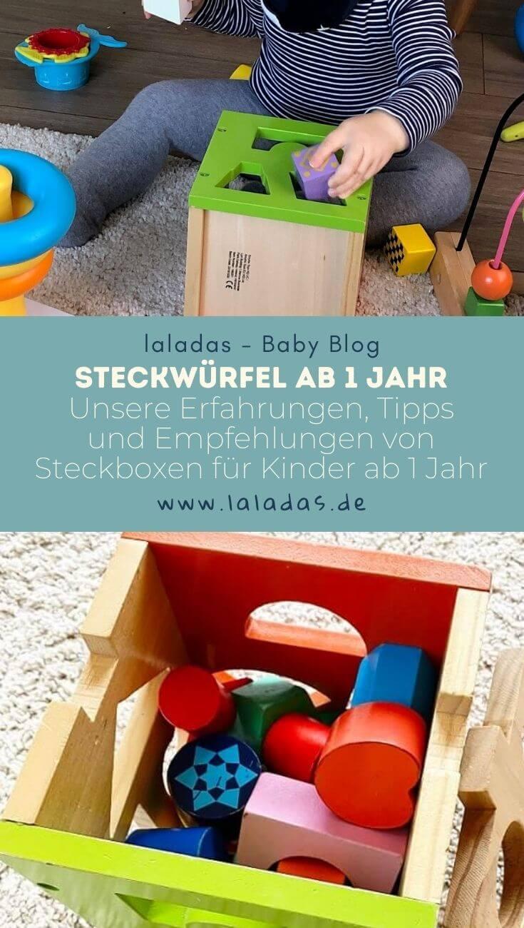 Steckwürfel ab 1 Jahr - Unsere Erfahrungen, Tipps und Empfehlungen von Steckboxen für Kinder ab 1 Jahr