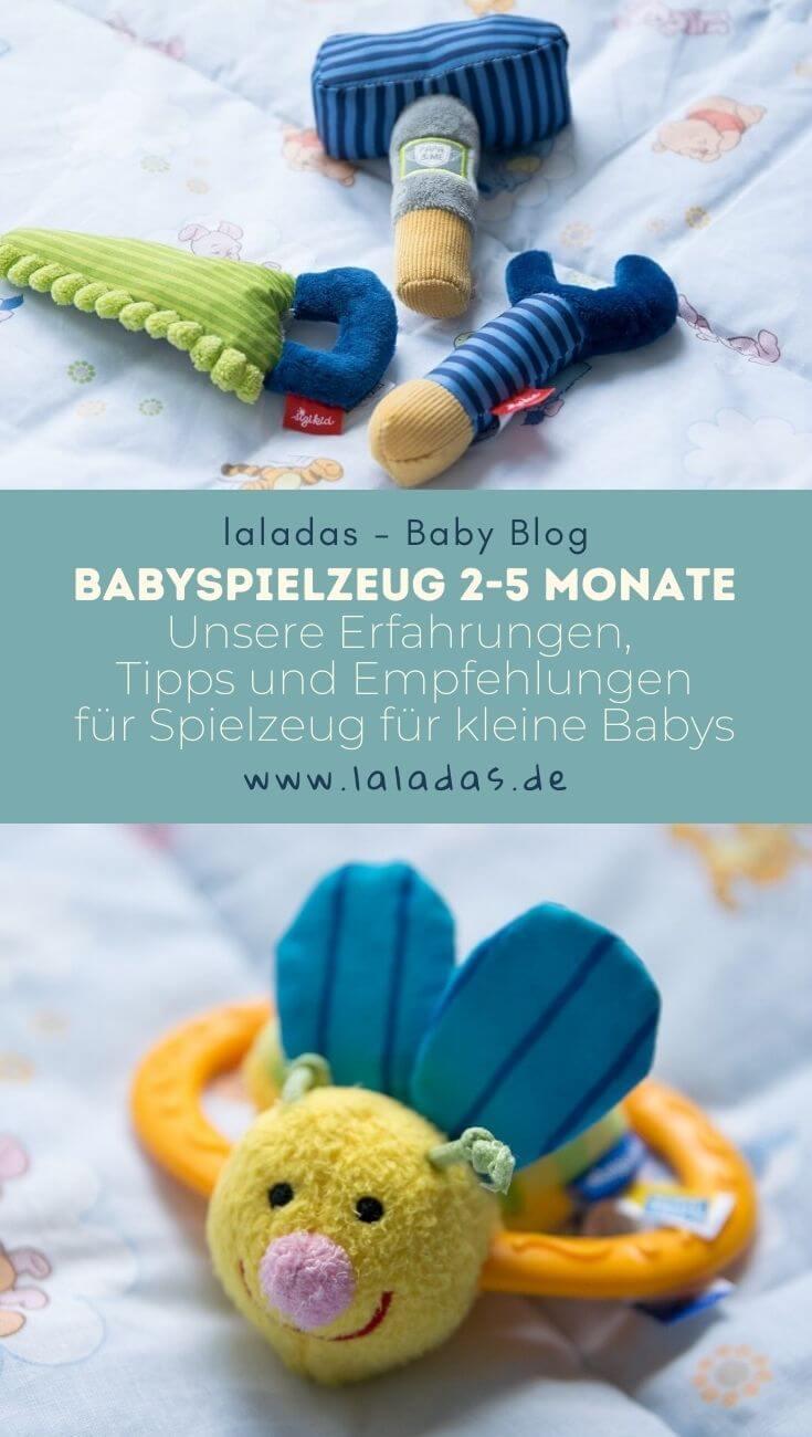 Babyspielzeug 2-5 Monate - Unsere Erfahrungen, Tipps und Empfehlungen für Spielzeug für kleine Babys