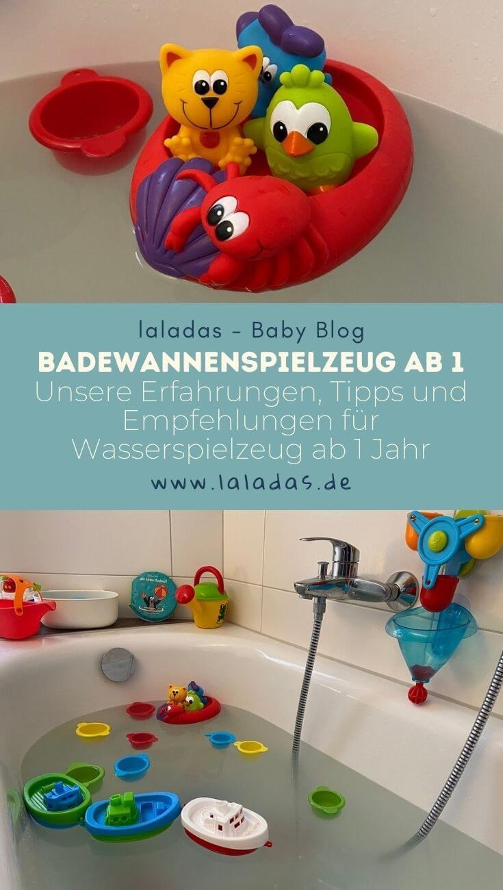 Badewannenspielzeug ab 1 - Unsere Erfahrungen, Tipps und Empfehlungen für Wasserspielzeug ab 1 Jahr