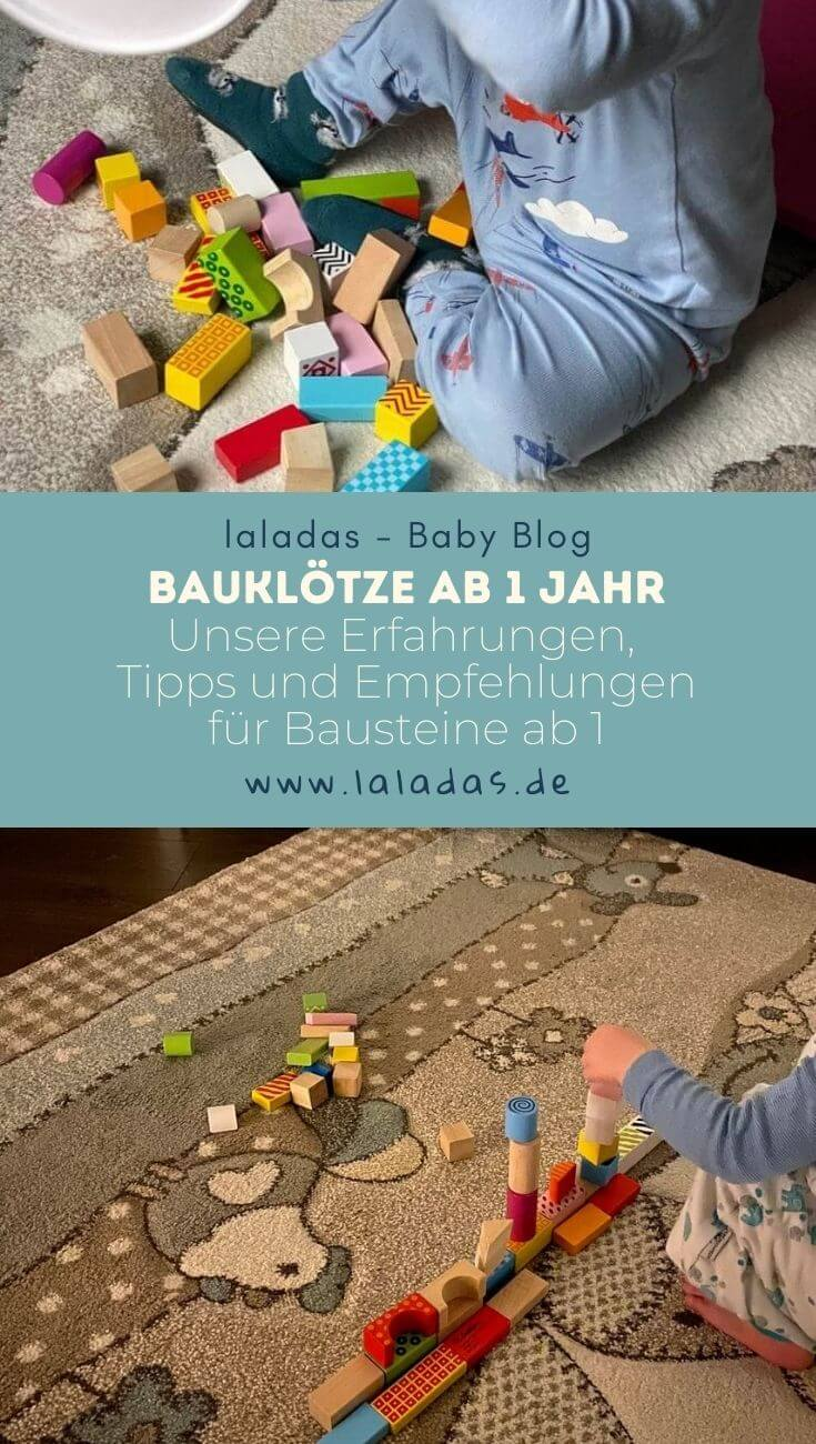 Bauklötze ab 1 Jahr - Unsere Erfahrungen, Tipps und Empfehlungen für Bausteine ab 1