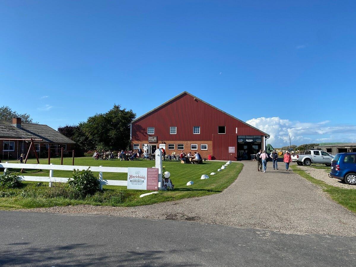 Die Hinrichsen Farm ist ein tolles Ausflugsziel für große und kleine Kinder