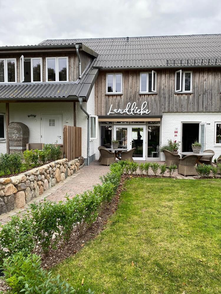 Familienhotel auf Föhr - Das Hotel Landliebe ist modern eingerichtet und perfekt auf Eltern mit kleinen Kindern abgestimmt