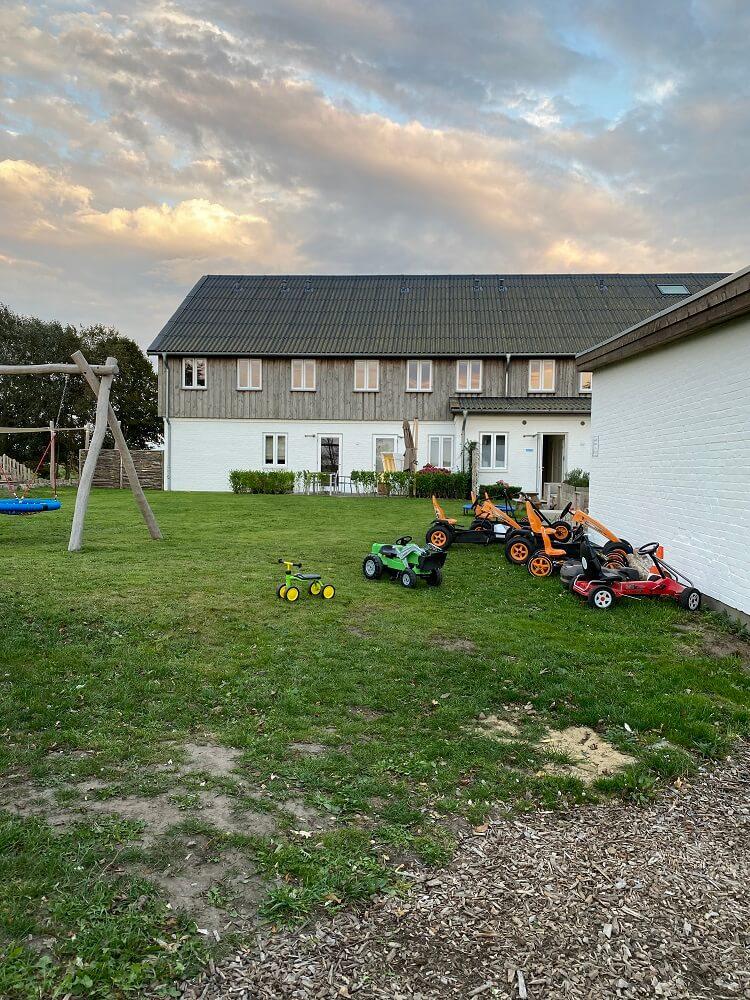 Nordsee Familienurlaub - Unser Hotel hatte jede Menge zu bieten, damit die Kleinsten richtig Toben konnten und Spaß hatten